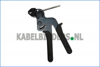 Kabelbindertang, tyrap tang, type CT3, spantang, aantrektang, kniptang voor metalen, stalen kabelbinders, bundelbanden etc. Cable ties steel tensioning and cutting tool